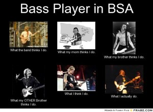 Bass Player - What I Actually Do 10