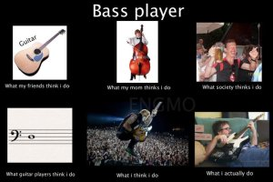 Bass Player - What I Actually Do 12