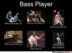 Bass Player - What I Actually Do 2