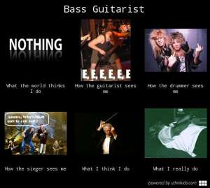 Bass Player - What I Actually Do 3