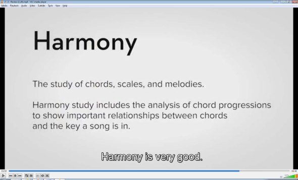 Coursera - Developing Your Musicianship: Harmony is very good