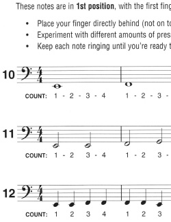 Snippet from Notes on the E String (pg. 14)
