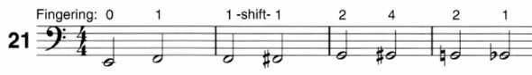 Snippet from More Notes on the E String (pg. 17)