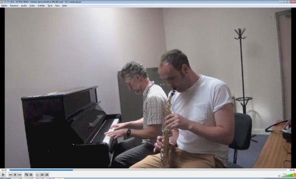 Dr. Moir and Dr. Worth play through the modes of the major scale in C