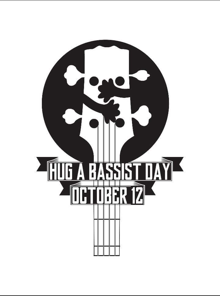 Its National Hug A Bassist Day Ugly Bass Face