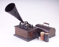 Typical and Popular Cylinder Phonograph Player