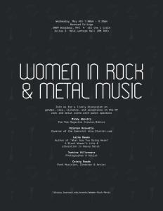 women in rock & metal