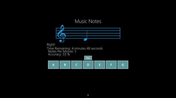 Music Notes app