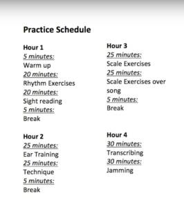 samuraiguitarist-practice-schedule
